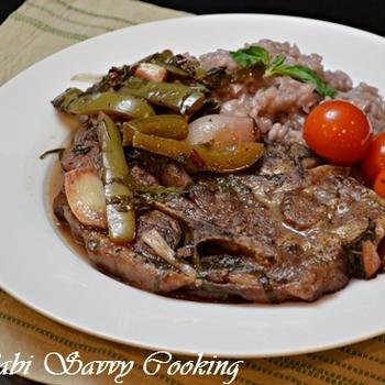 Lamb Chop Risotto
