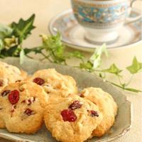 【レシピ】HM使用/ドライフルーツとナッツのドロップクッキー