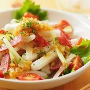 シャキシャキほくほく♪食感を楽しむ「長芋のサラダ」