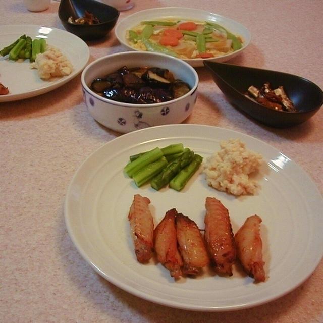 鶏スペアリブのマリネ焼き