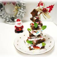 * クリスマス ★ クリスマスツリーケーキ♪
