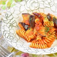 【レシピ】茄子のアラビアータ