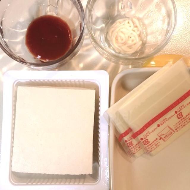 木綿豆腐救済! レンジでチンするだけの簡単手抜き料理
