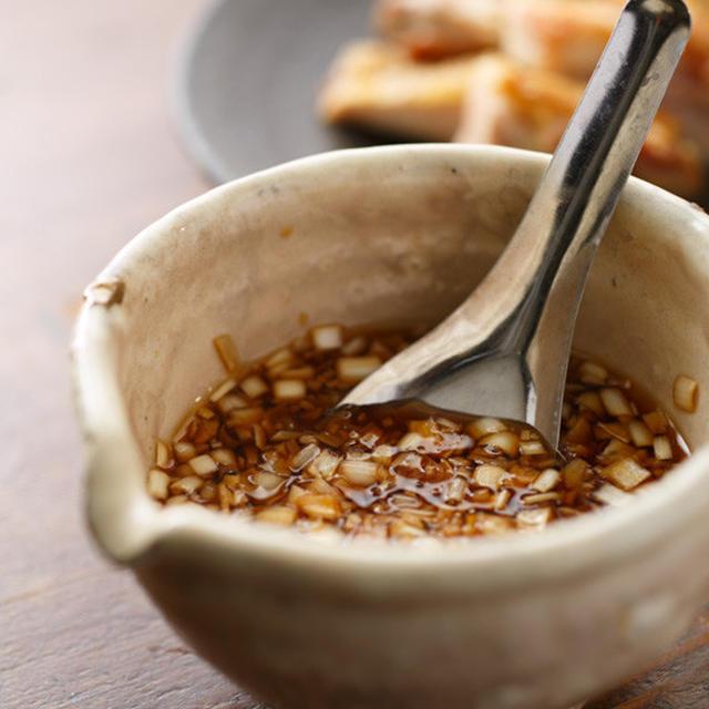 [EAT]油淋鶏のタレ