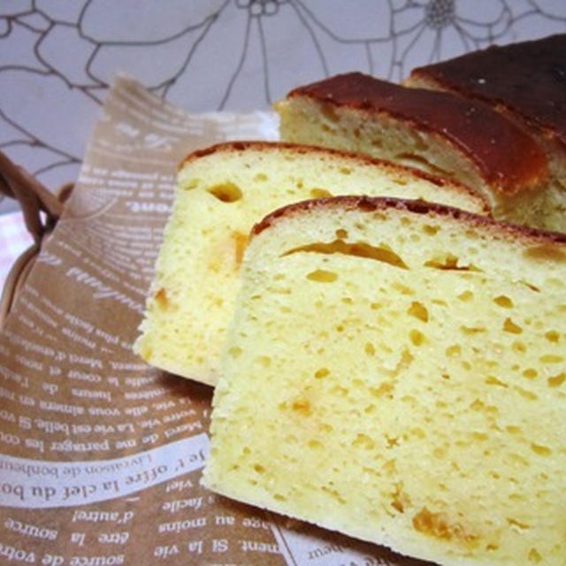 柚子好きの私にご褒美 柚子香るパウンドケーキ