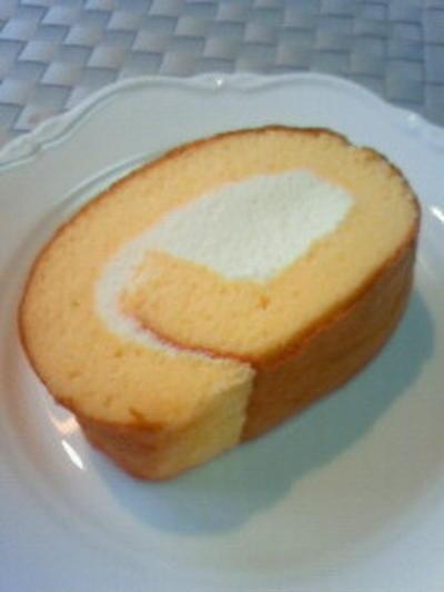 私のロールケーキ