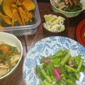 豚肉とピーマン野菜炒め