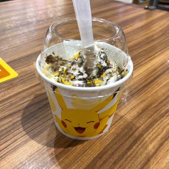 マックフルーリーのチョコバナナ味☆
