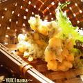 """海藻""""しらすとわかめとコーンのかき揚げ~お弁当にも^^ by YUKImamaさん"""