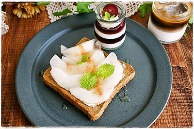 マスカルポーネ&フルーツのトースト2種とらん丸さんパートⅡ