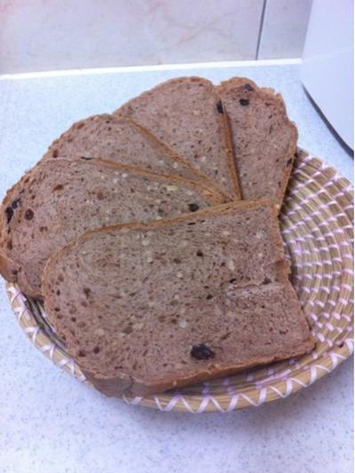 ホームベーカリーで焼くココア風味の食パン(Part2)