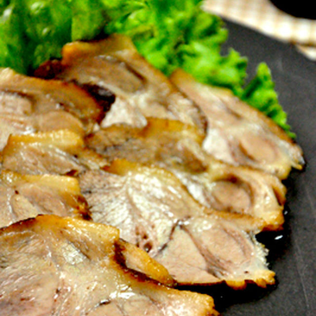 焼き肉のタレ&めんつゆでチャーシュー