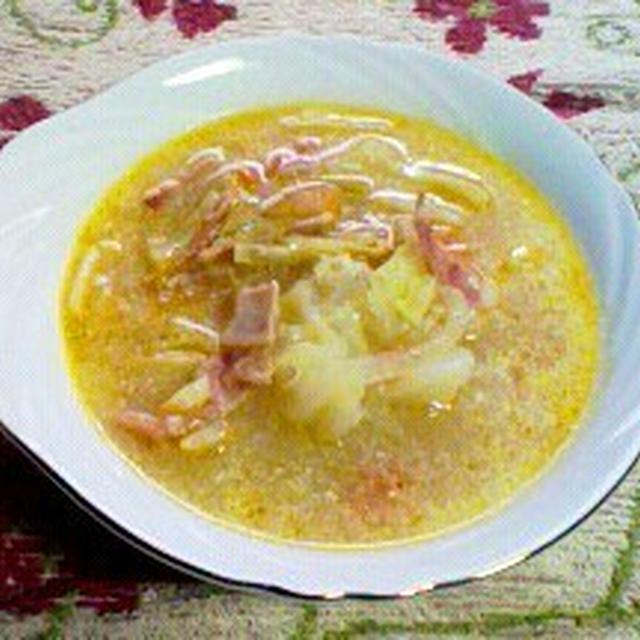 料理レシピ/簡単美味しい栄養満点 あつあつミネストローネ