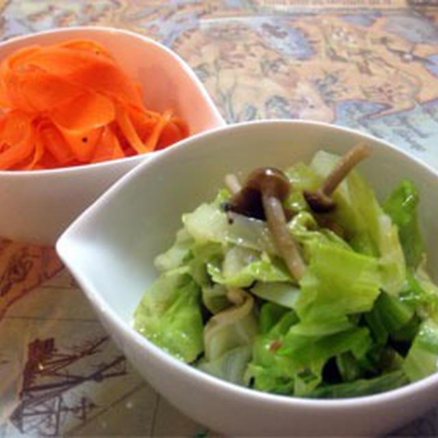 パパッとできる2色のお野菜おかず