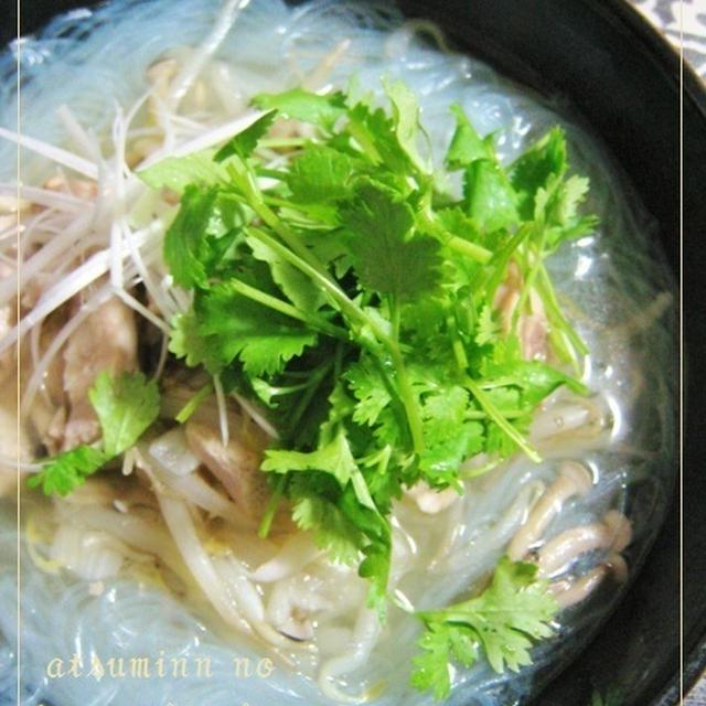 カラダ優しいレシピ☆疲れた胃にはチキンフォーのアレンジ料理で&梅サワードリンク