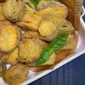 #088 ズッキーニの肉詰めフリット バジルとパルミジャーノ『揚げたてが最高に美味しい!』