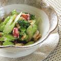 胡桃入り!セロリと蛸のマスタードサラダ