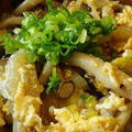白菜とシメジの卵とじ丼弁当