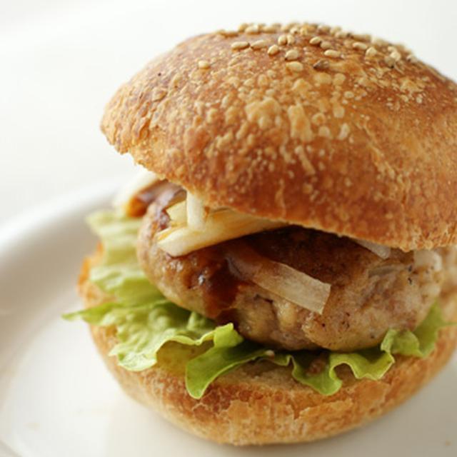 ★[レシピ]ハンバーガーバンズ