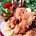 タンドリーチキン風!鶏肉のスパイス唐揚げ