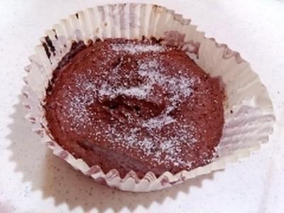 【糖質制限】低カロリーで簡単ガトーショコラ