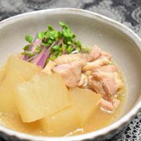 【ヤマキだし部】大根と鶏肉のくず煮。おだしをきかせたさっぱり薄味。