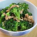 簡単和総菜☆ブロッコリ-とツナの胡麻和え