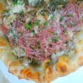 シュレッドビーフdeピザ by marumiさん