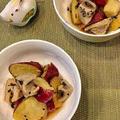 レンコンとさつま芋の揚げ煮~おせちや作り置きに美味しい!!