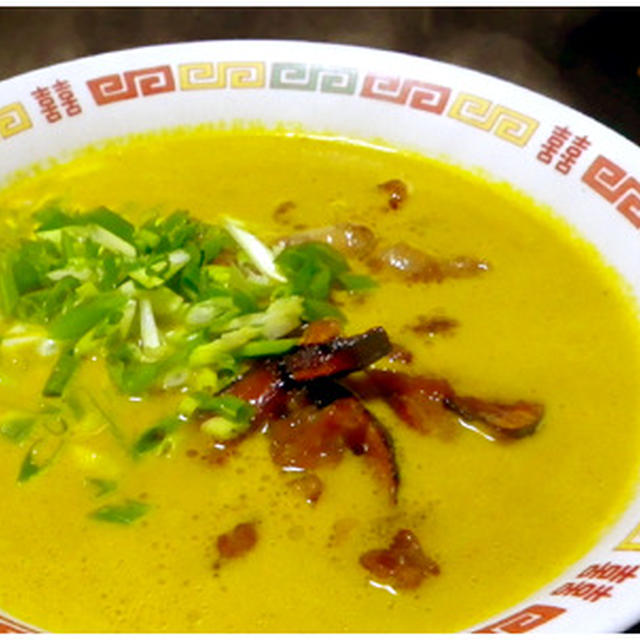 正麺考察「南瓜味噌麺」