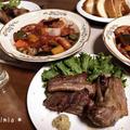 【手作り】簡単♪豚スペアリブ&トマト煮込み*過熱水蒸気オーブンレンジ(2段同時調理)