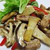マリネポークと茸のハーブソテー