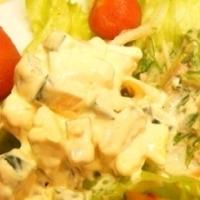 【うちレシピ】カボチャとクリームチーズのマヨサラダ★シナモン入り