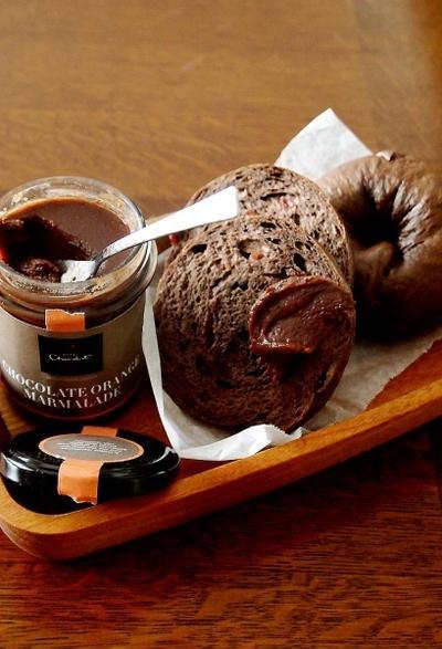 嬉しい贈り物と・・クランベリーチョコベーグル♪