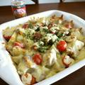 【簡単レシピ】鶏肉とじゃが芋のコク旨チーズ焼き♪ by bvividさん