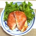 コーン&ベジタブルポテトサラダのハムカツ