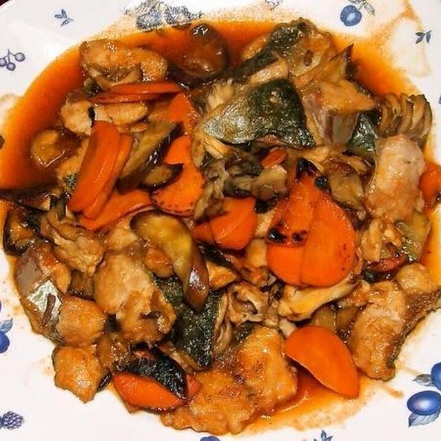 ツバスの甘酢ソース&蕪と鶏つくねのクリーム煮