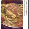ひき肉団子と韓国春雨のピェンロー(中国風白菜鍋) by 庭乃桃さん