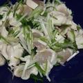 ≪鶏ささみと香味野菜の和え物≫