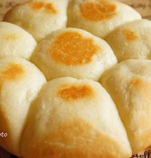 薄力粉でふわふわミルクパン