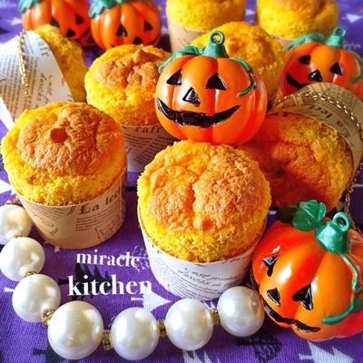 ハロウィンにも♩》♡かぼちゃとさつまいもの簡単可愛いスイーツ