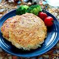 オートミールとキャベツの照り焼きハンバーグ【簡単ダイエットにオススメ】|レシピ・作り方