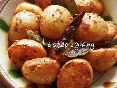 >★レシピ★新じゃがで美味しいインド料理♪スパイシーなフライドマサラポテト by ヤミーさん