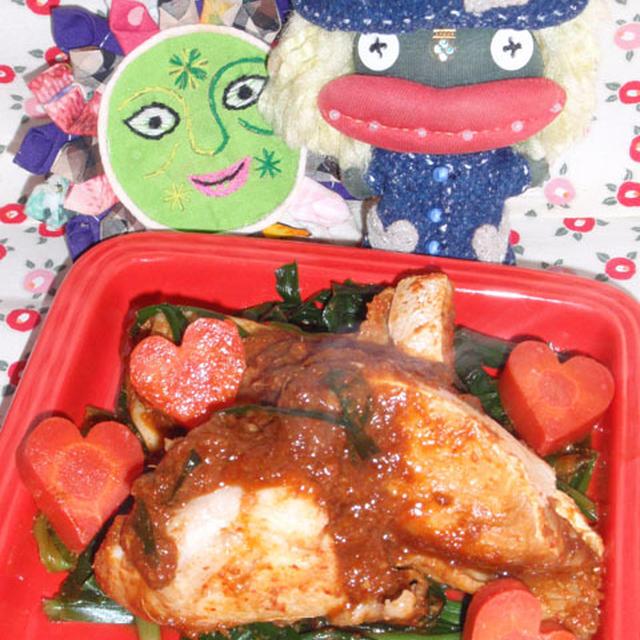 ぶりカマのコチュジャン煮&キャベツのとろろ昆布サラダ(お家カフェ)