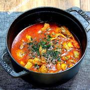 鶏肉とキノコたっぷりトマトソース煮&「またまた奈良で美味しいお蕎麦」かおく