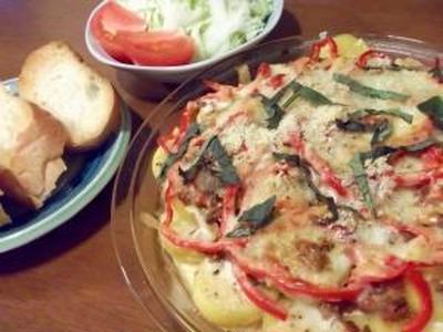 夏野菜の食卓と亀山湖でのBBQ