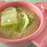 低カロリー骨と歯を強化!白菜とツナのクリーム煮