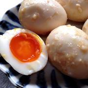 卵の味噌漬け