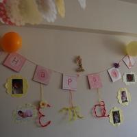 えまちゃん 1歳の誕生日
