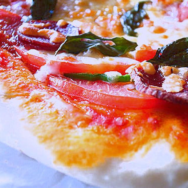 久しぶりのナポリピザ